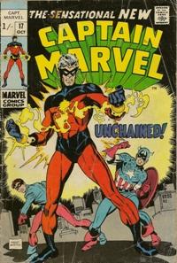 Captain Marvel 17 200