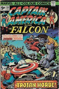 Capt America 194 200