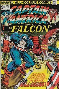 Capt America 196 200