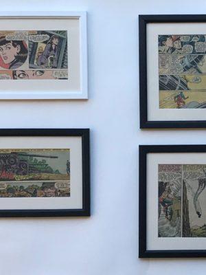 Framed comic strips
